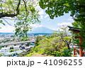 富士山 初夏 新緑の写真 41096255