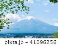 富士山 初夏 新緑の写真 41096256