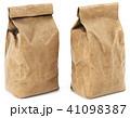 Brown paper food bag packaging 41098387