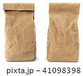 Brown paper food bag packaging 41098398