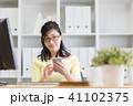 ビジネスウーマン 女性 人物の写真 41102375