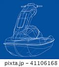 ボート 小船 舟のイラスト 41106168
