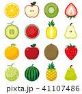 果物 フルーツ アイコンのイラスト 41107486