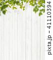 白壁 壁 新緑のイラスト 41110394