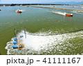 晴れ 海 養殖場の写真 41111167