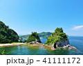 青空 海岸 姫島の写真 41111172