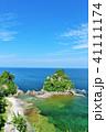 青空 海 海岸の写真 41111174