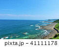 宮崎県 青空と青い海 41111178