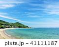 晴れ 海 海岸の写真 41111187