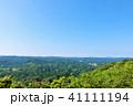 青空 森林 自然の写真 41111194