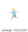 人物 子供 全身のイラスト 41111267