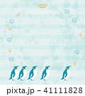 ベクター 水色 ペンギンのイラスト 41111828