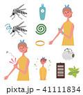 蚊 むしさされ 対策 イラスト セット 41111834