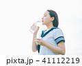 高校生 水 飲むの写真 41112219