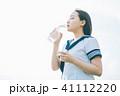 高校生 水 飲むの写真 41112220