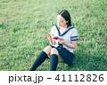 読書 学生 本の写真 41112826
