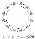 フレーム 背景 子猫のイラスト 41114276