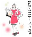 女性 ライフスタイル おしゃれのイラスト 41114875