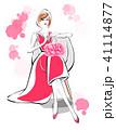 女性 ファッション おしゃれのイラスト 41114877