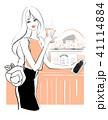 女性 ライフスタイル おしゃれのイラスト 41114884
