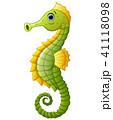 Cute sea horse cartoon 41118098