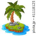 背景 浜辺 きれいのイラスト 41118125