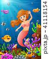 サンゴ 珊瑚 珊瑚礁のイラスト 41118154
