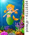 漫画 サンゴ 珊瑚のイラスト 41118164