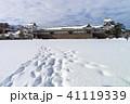 金沢城 冬 雪の写真 41119339