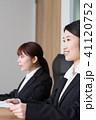 女性 ビジネスウーマン 面接の写真 41120752