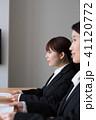 女性 ビジネスウーマン 面接の写真 41120772