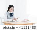 高校生 勉強 タブレットの写真 41121485
