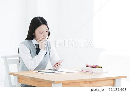 高校生 女性 女の子 教育 女子高生 41121493