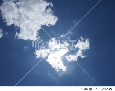 雲に隠れた太陽 41124239