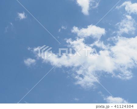 青空と白い雲 41124304