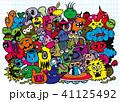 書籍 着色 ひょうきんのイラスト 41125492