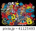 書籍 着色 ひょうきんのイラスト 41125493