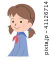 女子学生 学生 女性のイラスト 41126714
