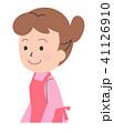 お母さん 人物 女性のイラスト 41126910