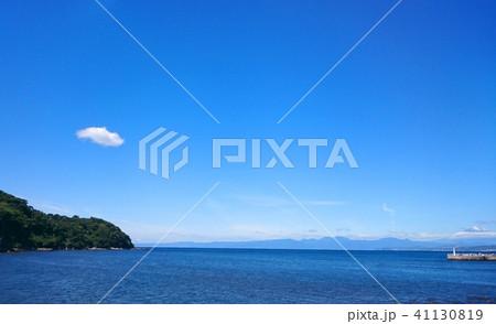日本 神奈川 江ノ島の海と青空 Japan enoshima sea and sky 41130819