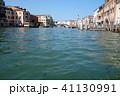 イタリア ベネチア ゴンドラから見る街並み Itary Venice 41130991