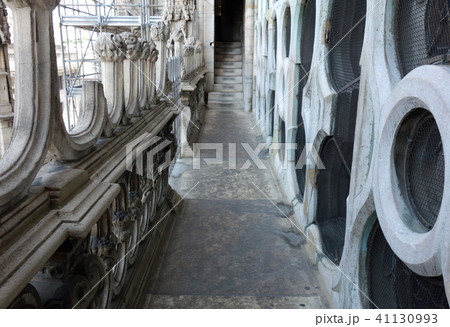 イタリア ミラノ大聖堂 ドゥオーモ 内部 Italy Milano Duomo di Milano 41130993