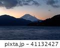 富士山 芦ノ湖 夕景の写真 41132427