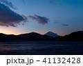富士山 芦ノ湖 夕景の写真 41132428