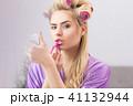 メイクアップ 化粧 お化粧の写真 41132944