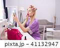 メイクアップ 化粧 お化粧の写真 41132947