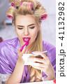 メイクアップ 化粧 お化粧の写真 41132982