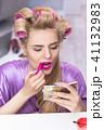 メイクアップ 化粧 お化粧の写真 41132983