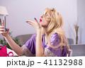 メイクアップ 化粧 お化粧の写真 41132988