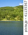 風景 山 湖の写真 41135367
